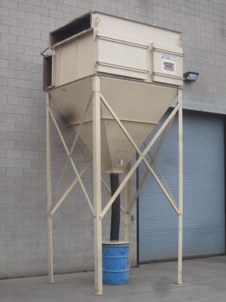10,000 cfm Steelcraft #C-20-5000 Cartridge Dust Collector