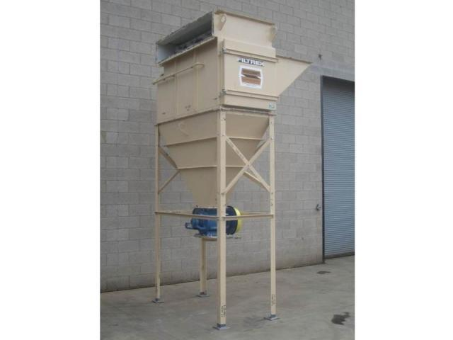 4,000 cfm Steelcraft #C-8-2000 Cartridge Dust Collector