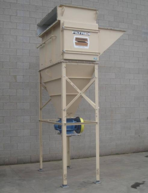 Used Cartridge Dust Collector 4 000 Cfm Steelcraft