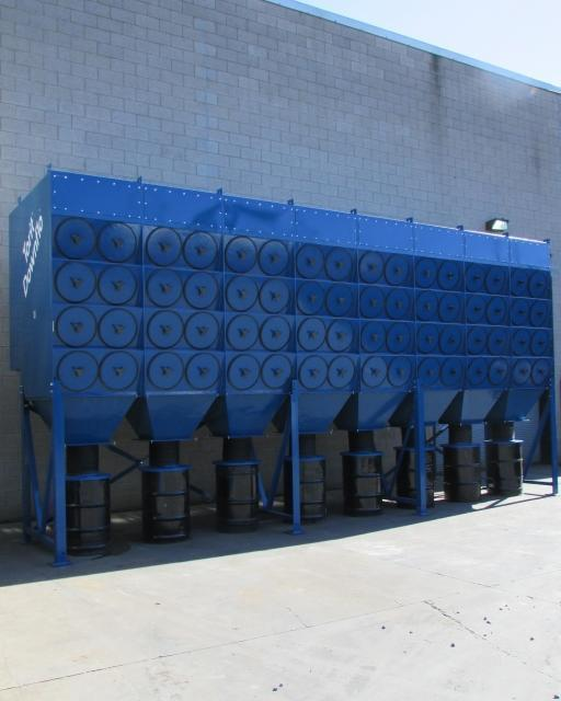 60,000 cfm Torit #4DF128 Cartridge Dust Collector