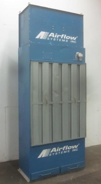 4,500 cfm Airflow Systems #Power Booth Dust Collector