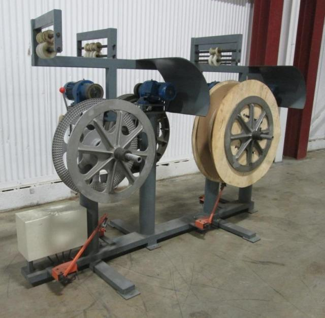 Twin Double Sided Stock Reel