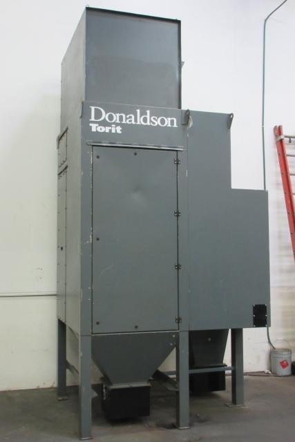4 000 Cfm Donaldson Torit Dfpro 8 Cycle Cartridge Dust