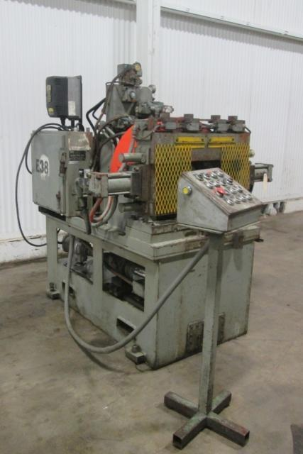 "6"" Dickey Rotary Tube End Trimming, Flaring, Forming & Beading Machine"