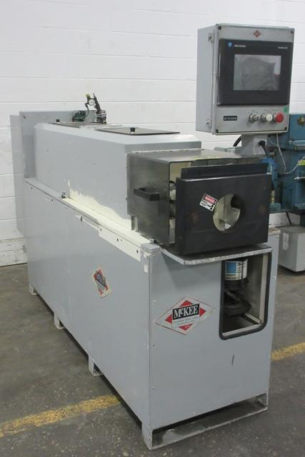 Addison McKee #EF-70 IDOD Tube End Sizing Machine