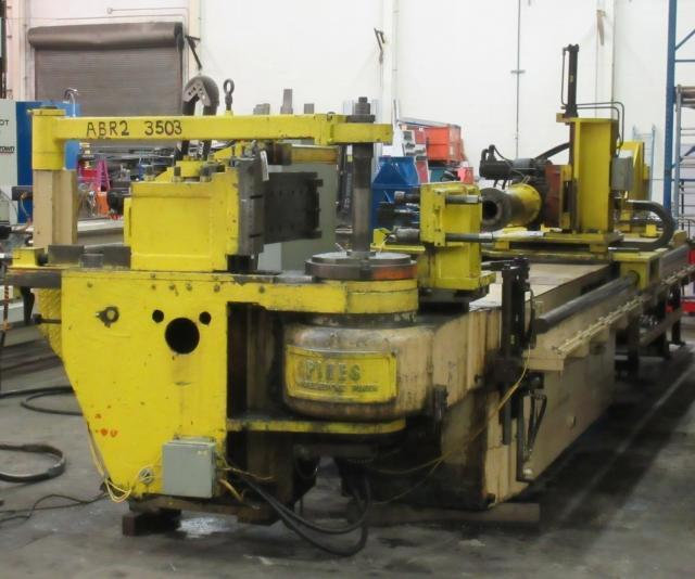 "6"" Pines #4 CNC Horizontal Tube Bender"