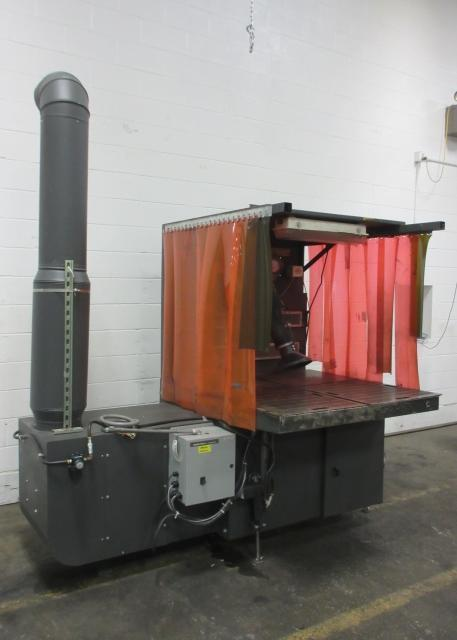 4,300 cfm Diversi-Tech #DD 3x4 E-LP Downdraft Dust Collection Table