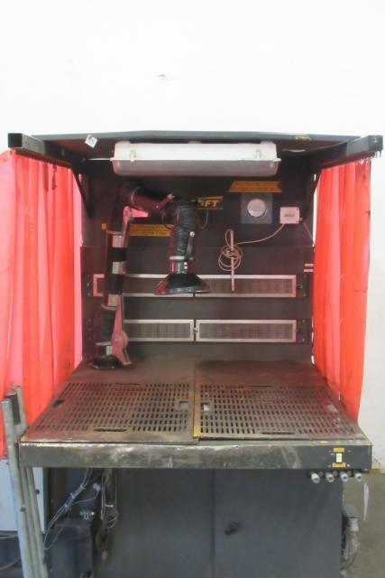 4 300 Cfm Diversi Tech Dd 3x4 E Lp Downdraft Dust