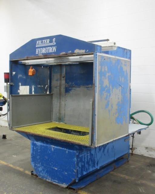 "5,000 cfm Filter-1 ""HydroTron"" Wet Downdraft Booth Collector"