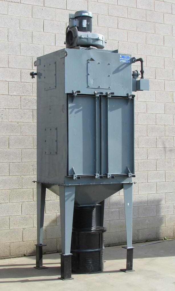 2,000 cfm Wheelabrator #23 WSC MOD 36 Cartridge Dust Collector