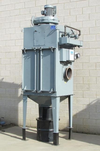 2 000 Cfm Wheelabrator 23 Wsc Mod 36 Cartridge Dust Collector