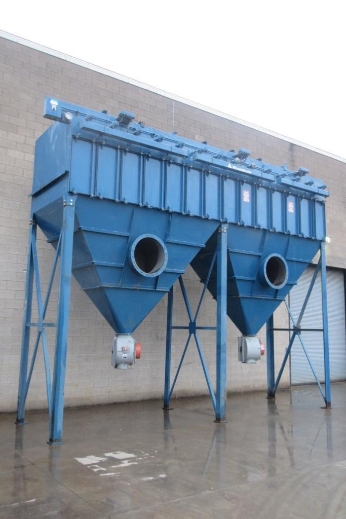 45,000 cfm Wheelabrator #514 WCC 36 Cartridge Dust Collector