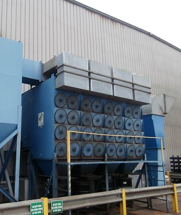32,000 cfm Donaldson Torit #4DF64 Cartridge Dust Collector