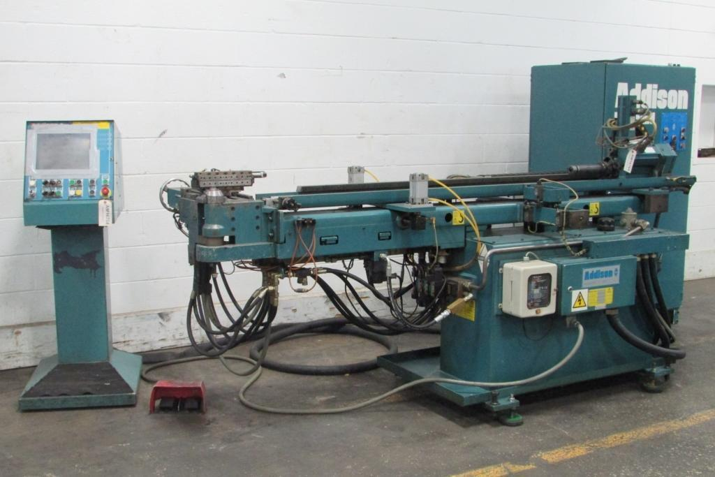 "3/4"" Addison #DB19ST Multi-Stack CNC Tube Bender"