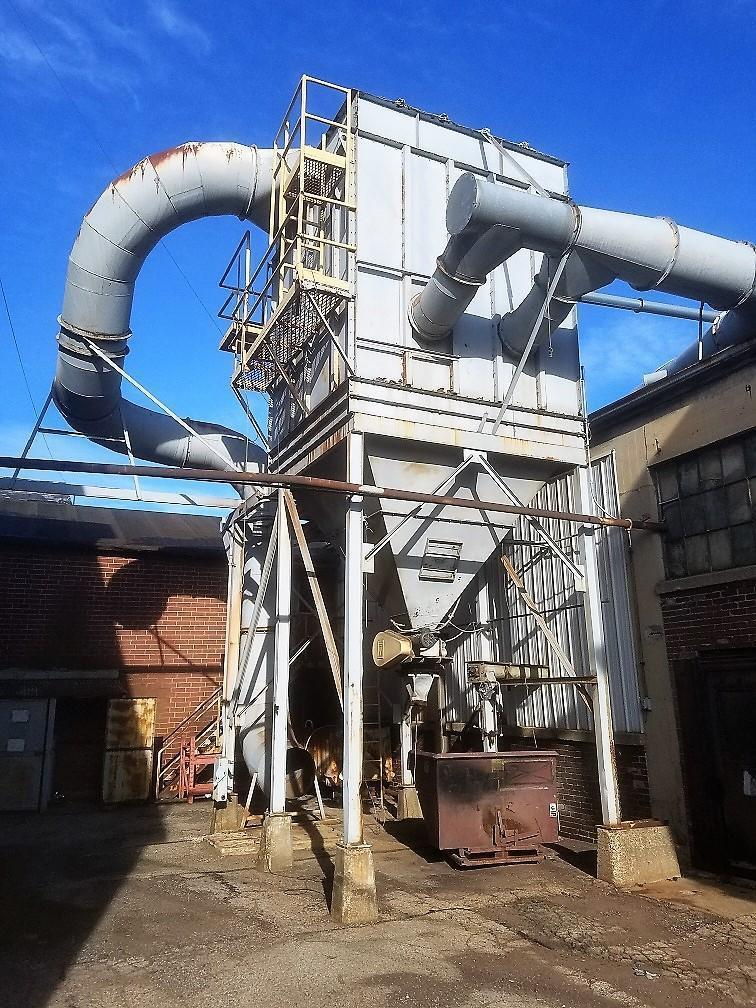 15,000 cfm Custom Side Access Baghouse Dust Collector