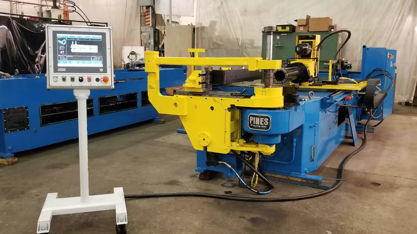 "3"" Pines #075 CNC Horizontal Tube Bender"