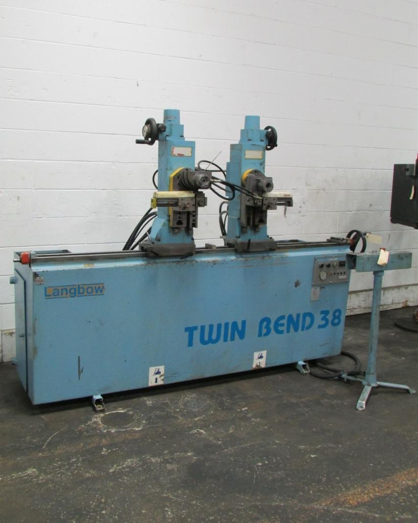 "1-1/2"" Langbow #TM38 Twin Head Tube Bender"