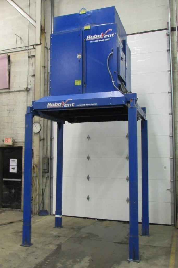 3,000 cfm Robovent #DFS-4000-4 Cartridge Dust Collector