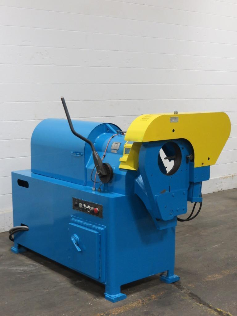 "8"" PHI #8CPV-7S Semi-Automatic Tube End Finisher"