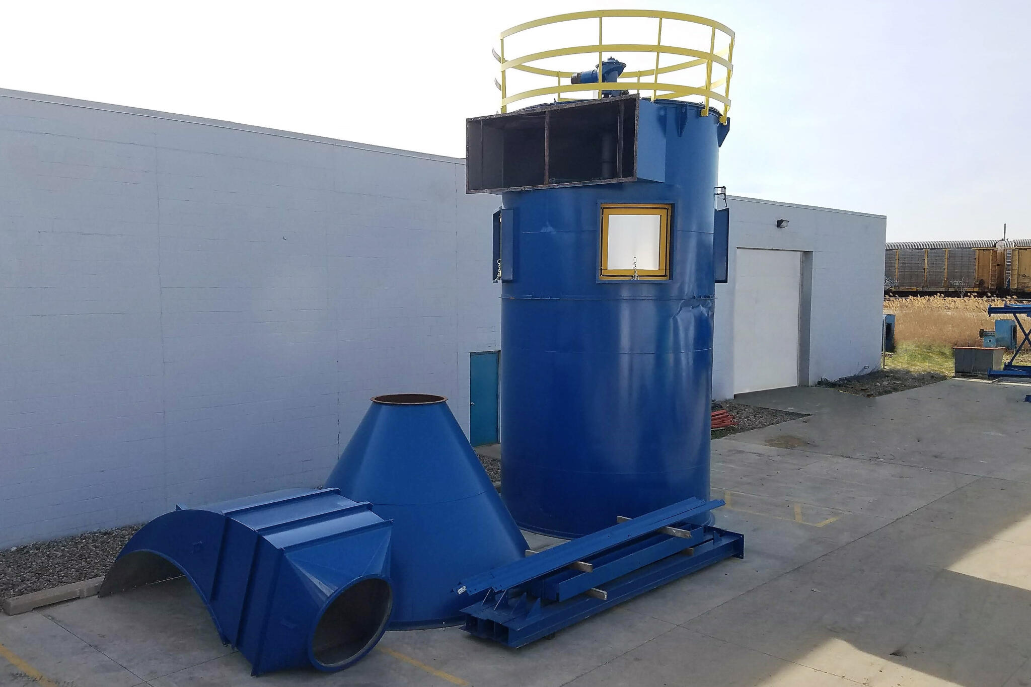55,000 cfm Donaldson Torit #376RFT12 Baghouse Dust Collector