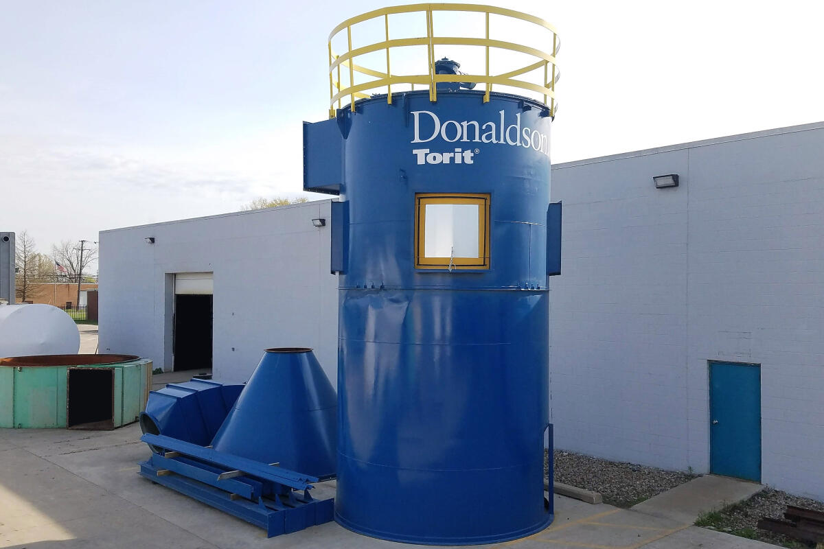 Additional image #1 for 55,000 cfm Donaldson Torit #376RFT12 Baghouse Dust Collector