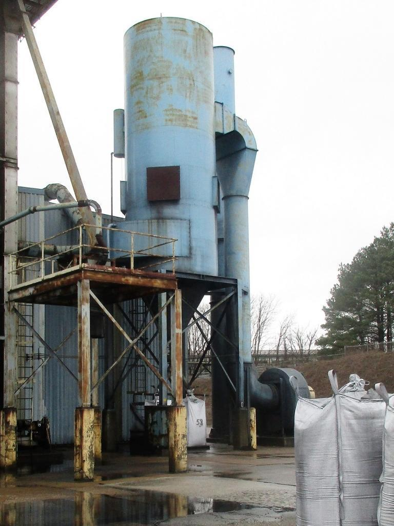58,000 cfm Donaldson Torit #376RF12 Baghouse Dust Collector