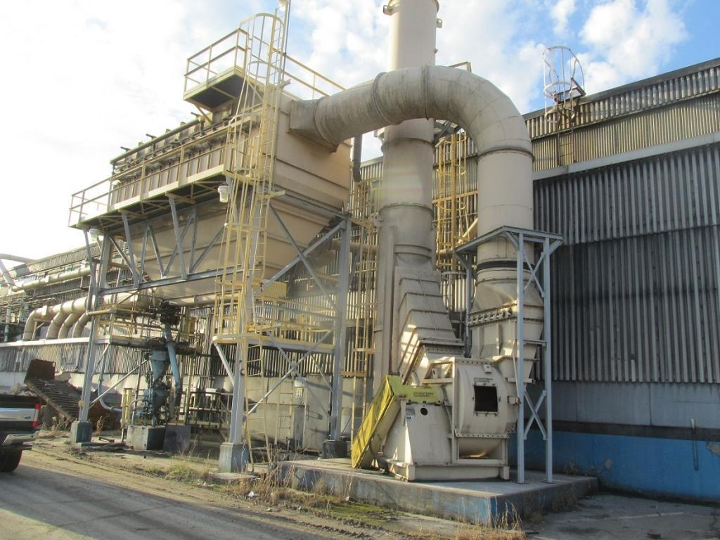 80,000 cfm Wheelabrator #815WCC36 Cartridge Dust Collector