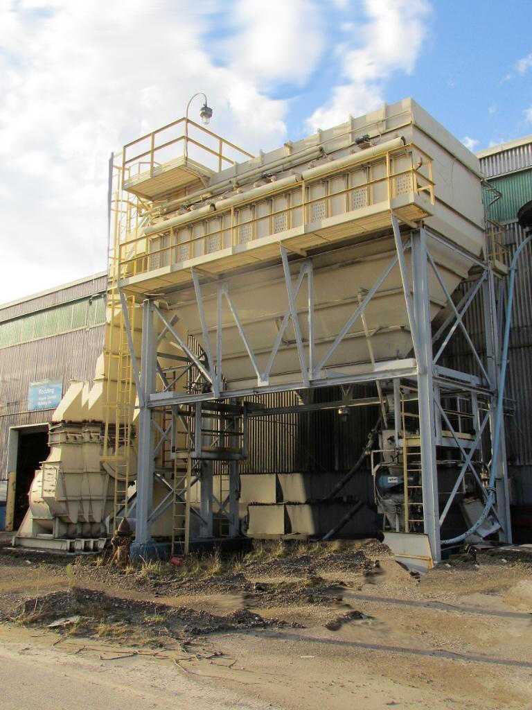 80,000 cfm Wheelabrator #815 WCC 36 Cartridge Dust Collector