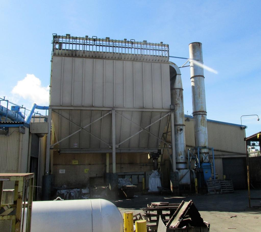 60,000 cfm Mac #144MCF416 Baghouse Dust Collector