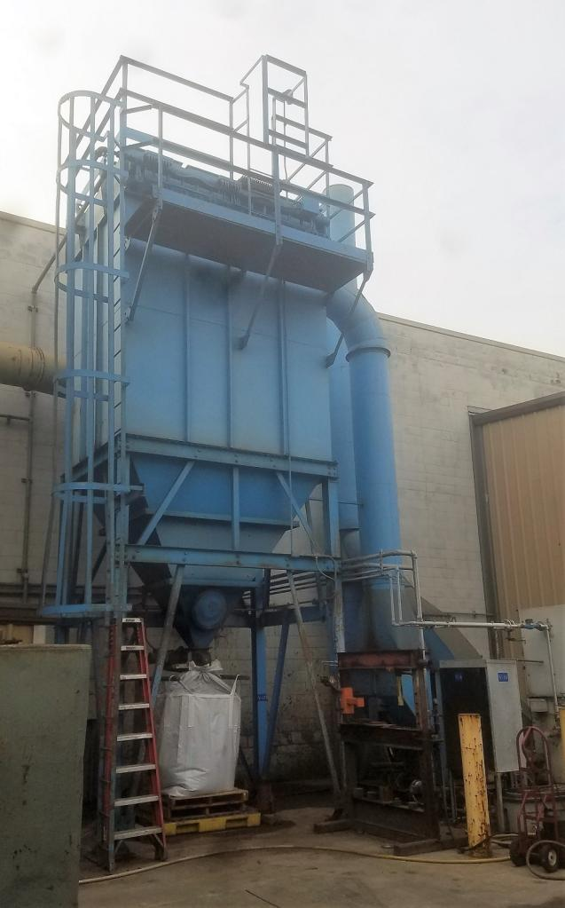 20,000 cfm Sly #STJ 1511-10 Baghouse Dust Collector