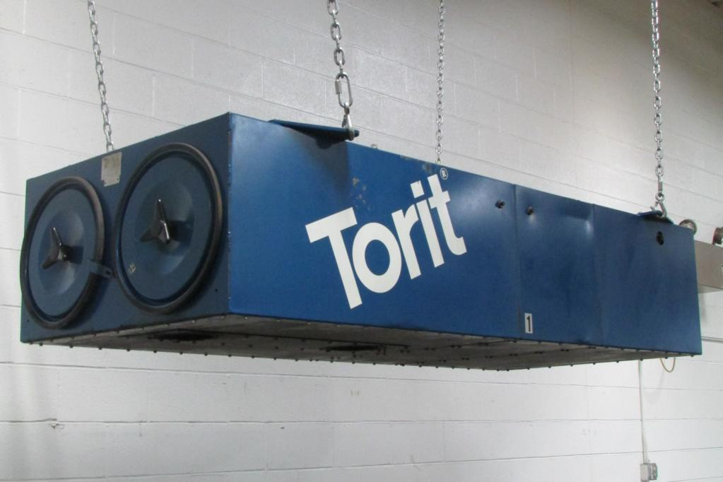 2000 cfm Donaldson Torit #T-2000  Ceiling-Hung Dust Collector