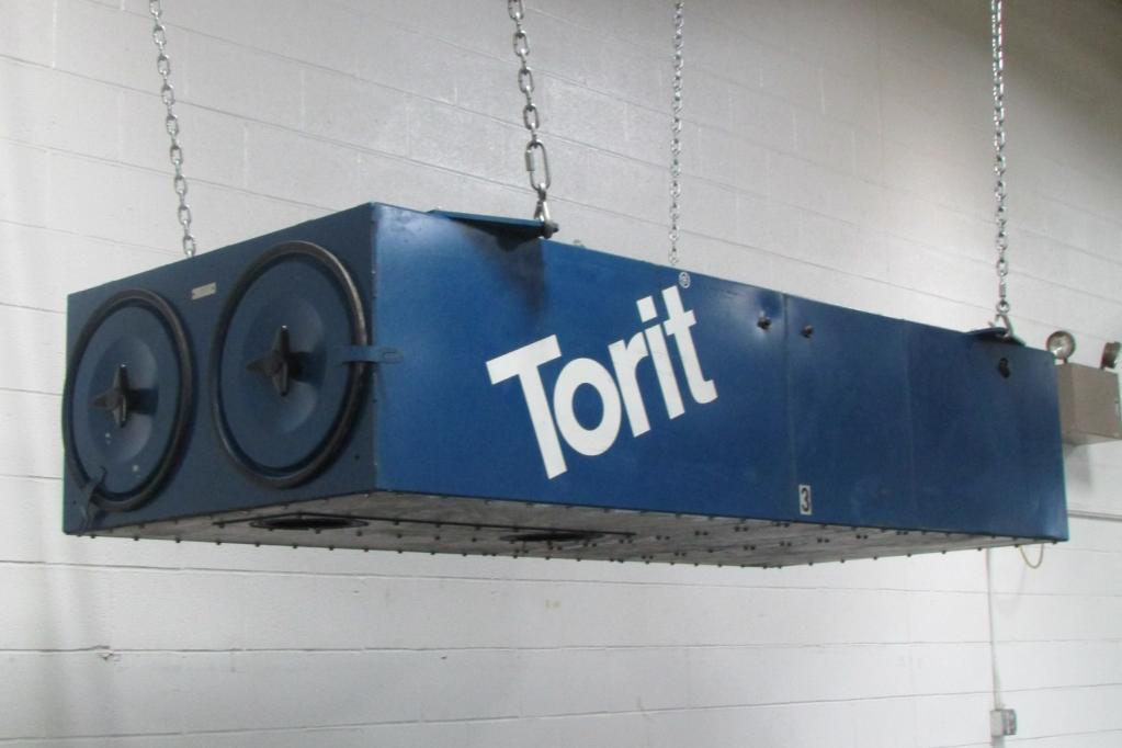 2,000 cfm Donaldson Torit #T-2000 Ceiling-Hung Dust Collector