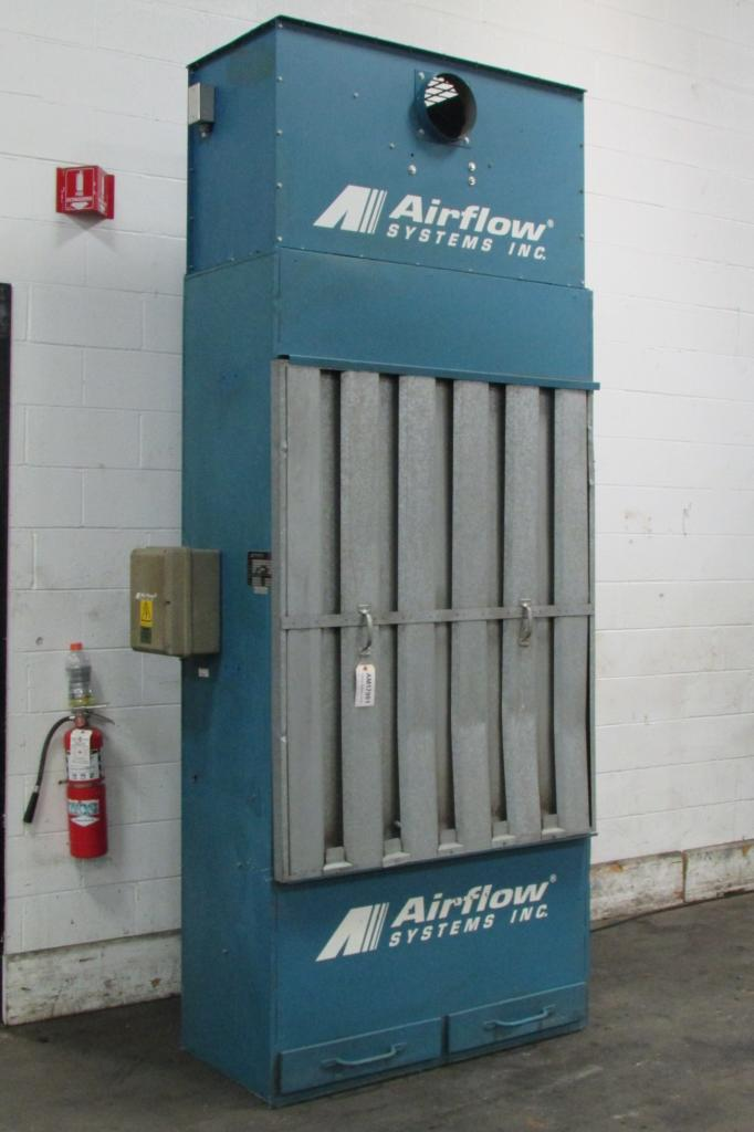 4,500 cfm Airflow Systems #DCB1 Back/Downdraft Dust Collector
