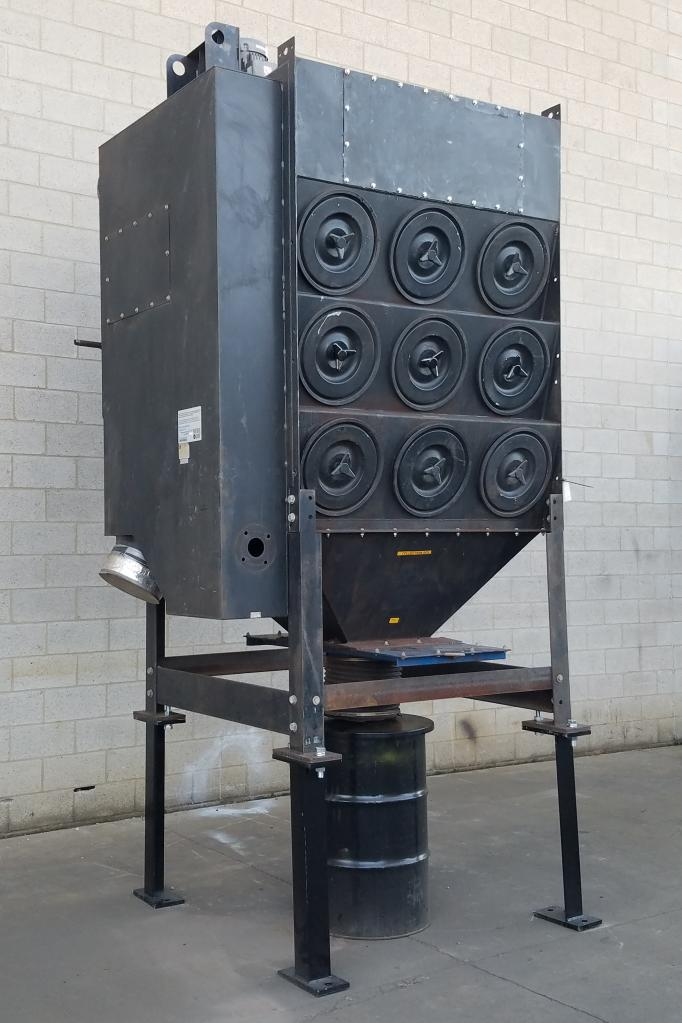 10,000 cfm Donaldson Torit #ADF3-18 Cartridge Dust Collector
