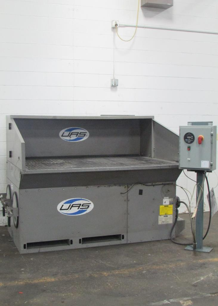 2,500 cfm UAS Dust-Hog #SDB Downdraft Dust Collector