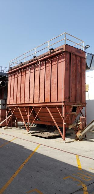 80 000 Cfm Fisher Klosterman Ecogate Baghouse Dust Collector
