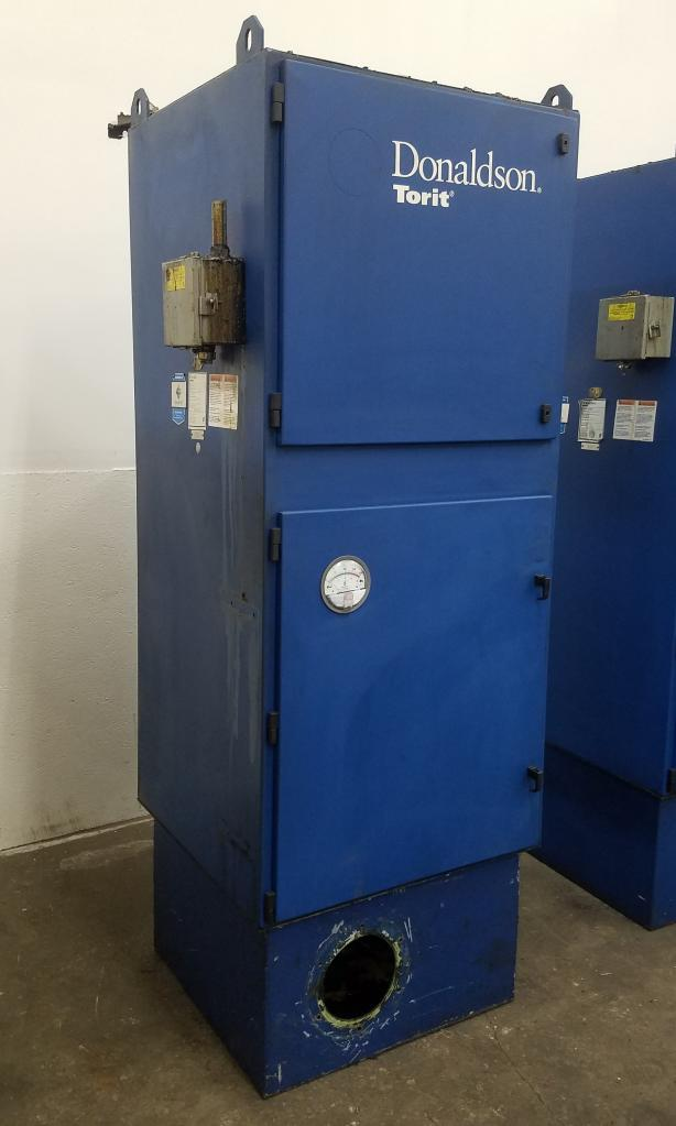 1,850 cfm Donaldson-Torit #WSO FM25-1 Mist Dust Collector