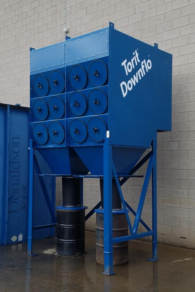 12,000 cfm Donaldson Torit #3DF24 Cartridge Dust Collector