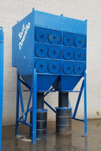 12 000 Cfm Donaldson Torit 3df24 Cartridge Dust Collector