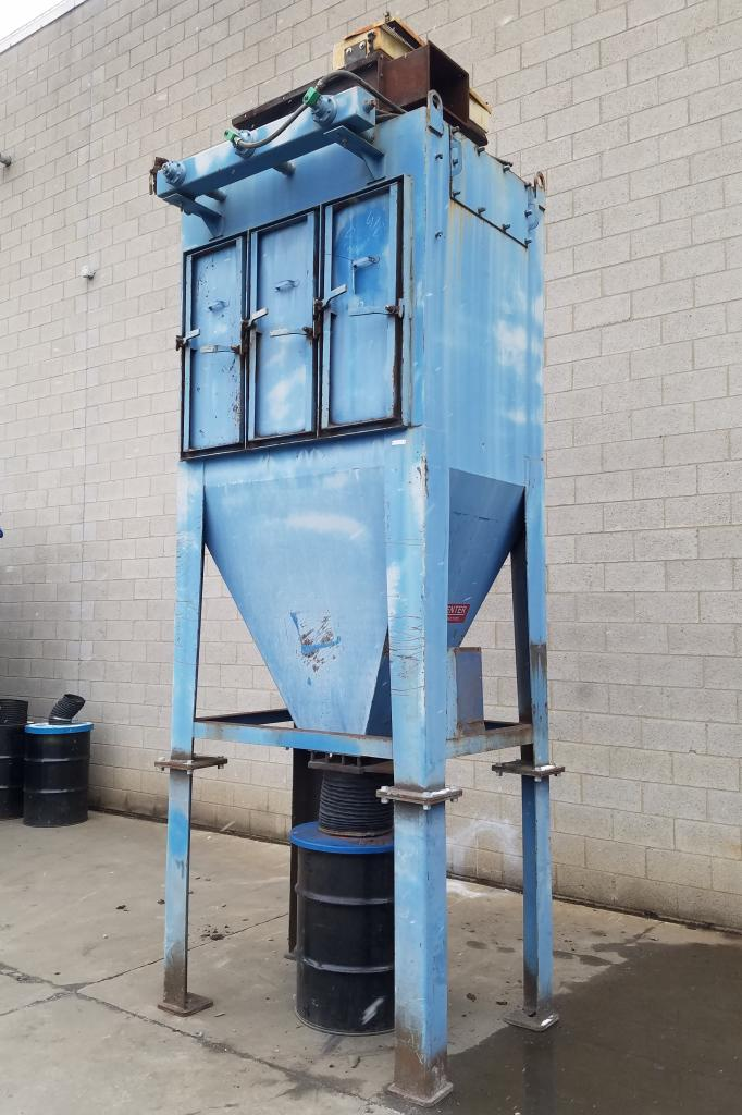 4,000 cfm Wheelabrator #32WCC Cartridge Dust Collector