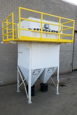 12,000 cfm Donaldson Dalamatic #6/10/10 Baghouse Dust Collector
