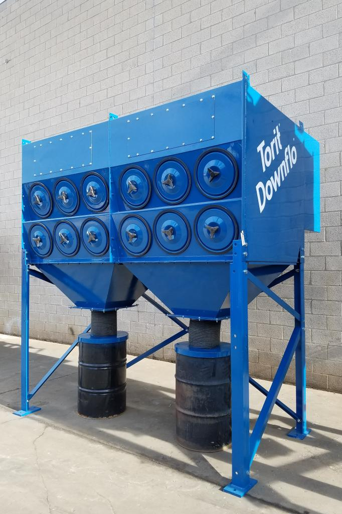 12,000 cfm Donaldson Torit #2DF24 Cartridge Dust Collector