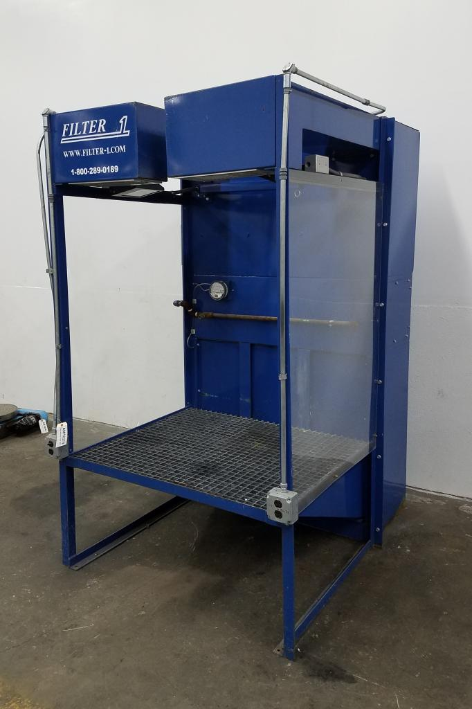 4,000 cfm Filter-1 Benchtron Downdraft Dust Collector