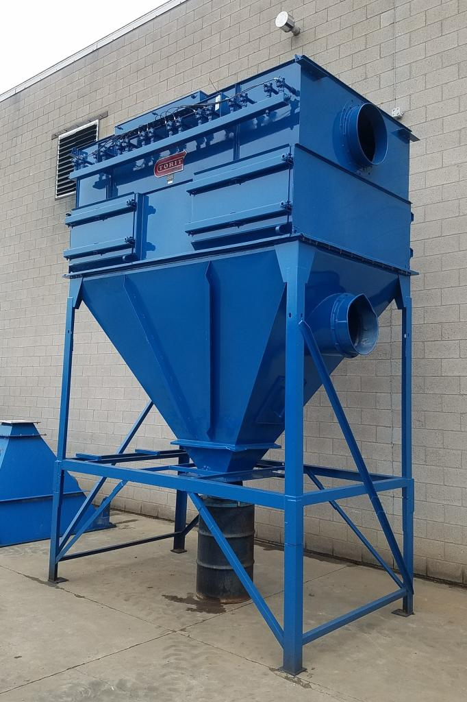 15,000 cfm Donaldson Torit #TD6120-155 Cartridge Dust Collector