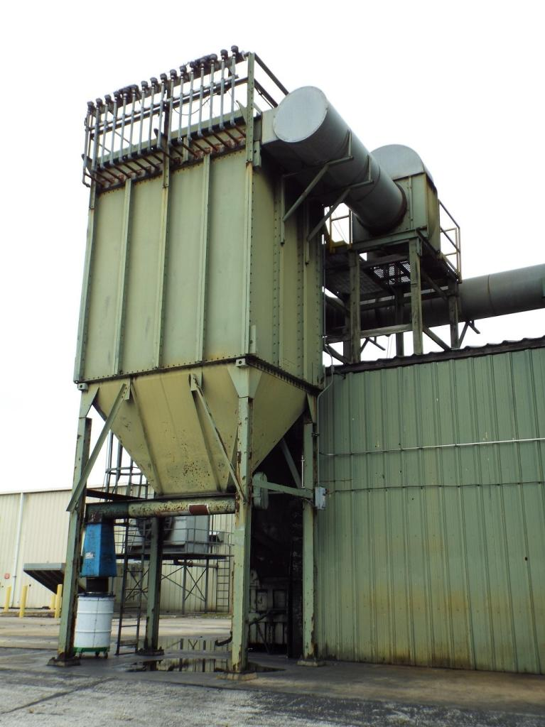 25,000 cfm #BHA 192 Pulse-Jet Baghouse Dust Collector
