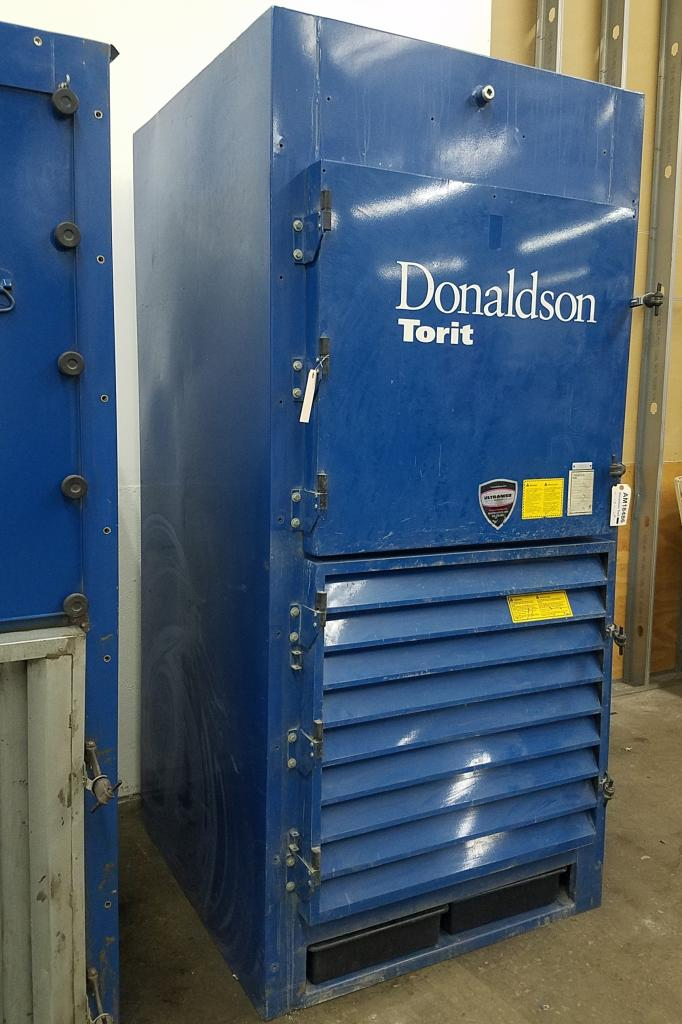 4,500 cfm Donaldson Torit #DWS-4 Booth & Backdraft Dust Collector