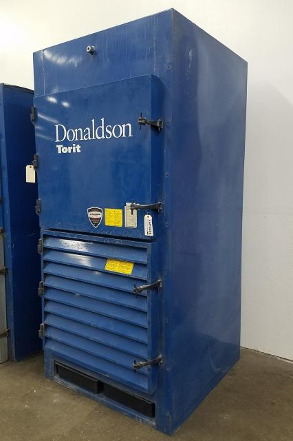 Additional image #1 for 4,500 cfm Donaldson Torit #DWS-4 Booth & Backdraft Dust Collector