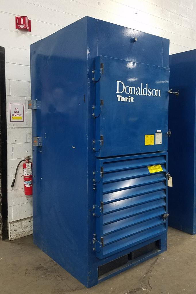 4,500 cfm Donaldson Torit #DWS-4 Booth Dust Collector