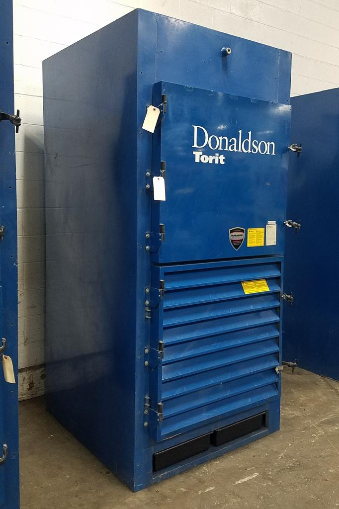 4,500 cfm Donaldson Torit #ECB-1 Booth Dust Collector