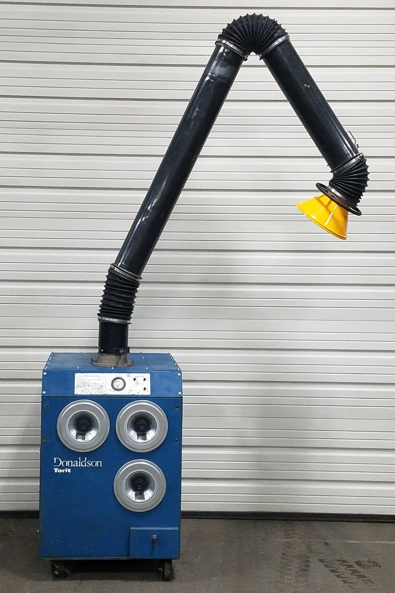 750 cfm Donaldson Torit Easy-Trunk Portable Dust Collector